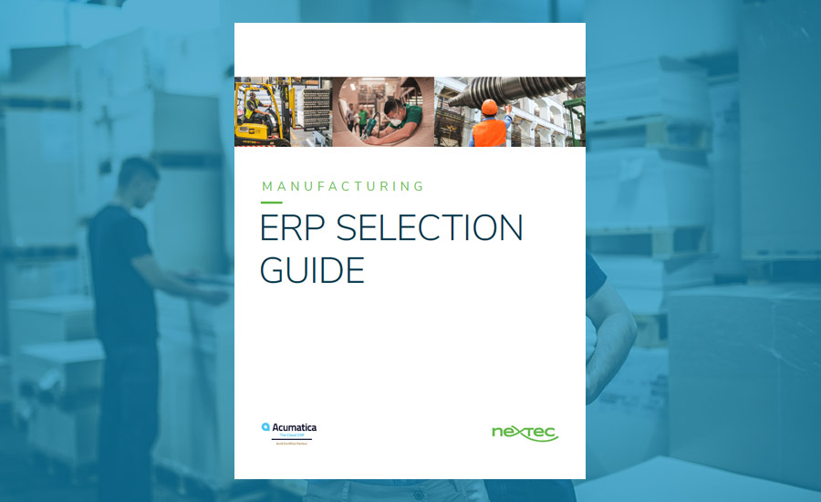 Selection Guide to ERP: Manufacturing