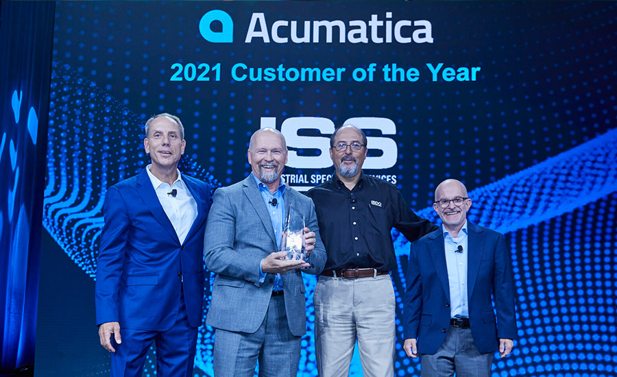 ISS is Acumatica's Customer of the Year